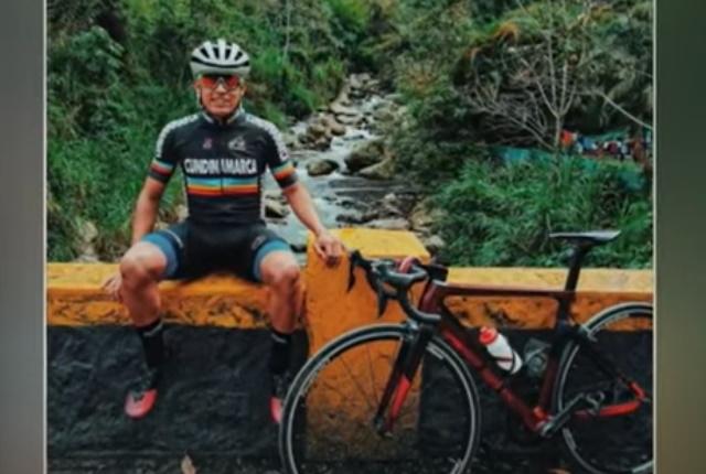 Ciclista Cristián Camilo Restrepo fue golpeado y asaltado en Engativá    Bogotá   NoticiasCaracol
