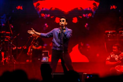 Fotografía del cantante de vallenato Silvestre Dangond