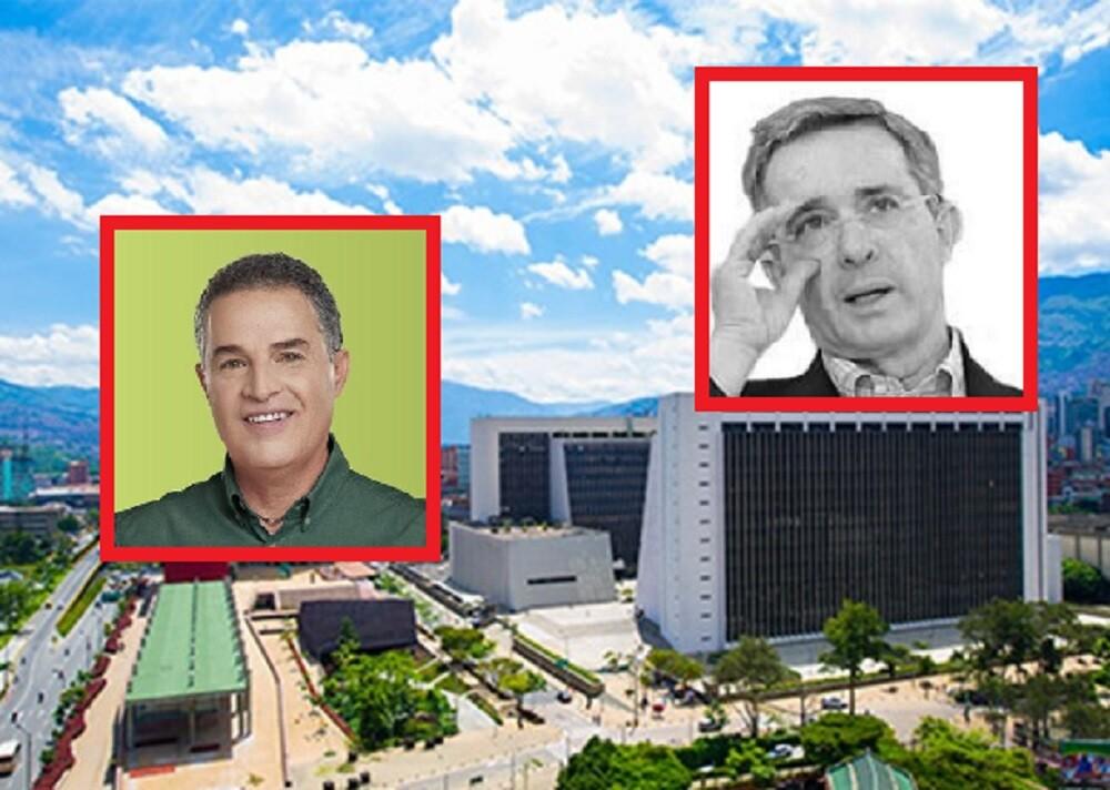 Álvaro Uribe le pide a Anibal Gaviria restricciones en Antioquia ante aumentos COVID.jpg