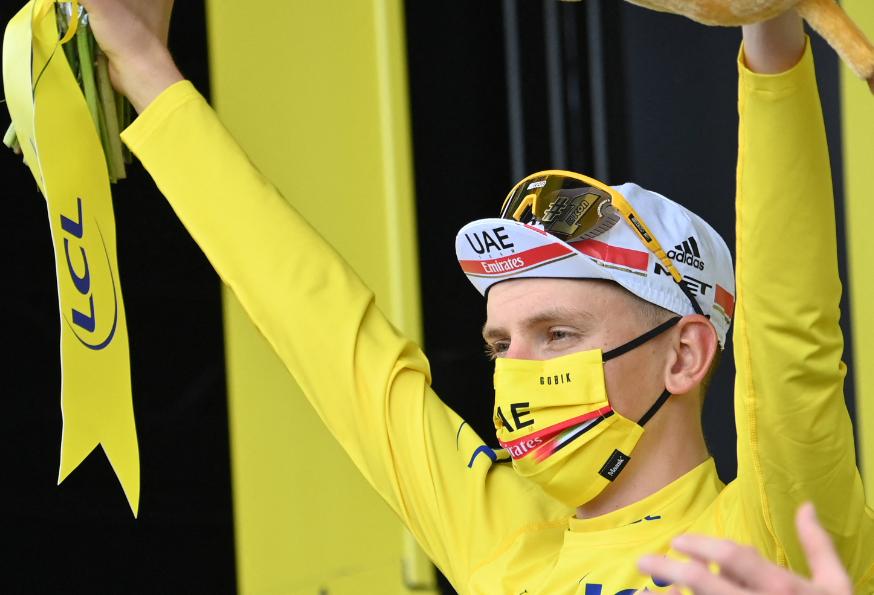 Tadej Pogacar es el líder del Tour de Francia 2021
