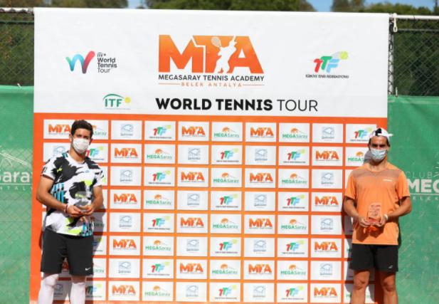 Nicolás Mejía fue subcampeón del M15 Antalya en Turquía.