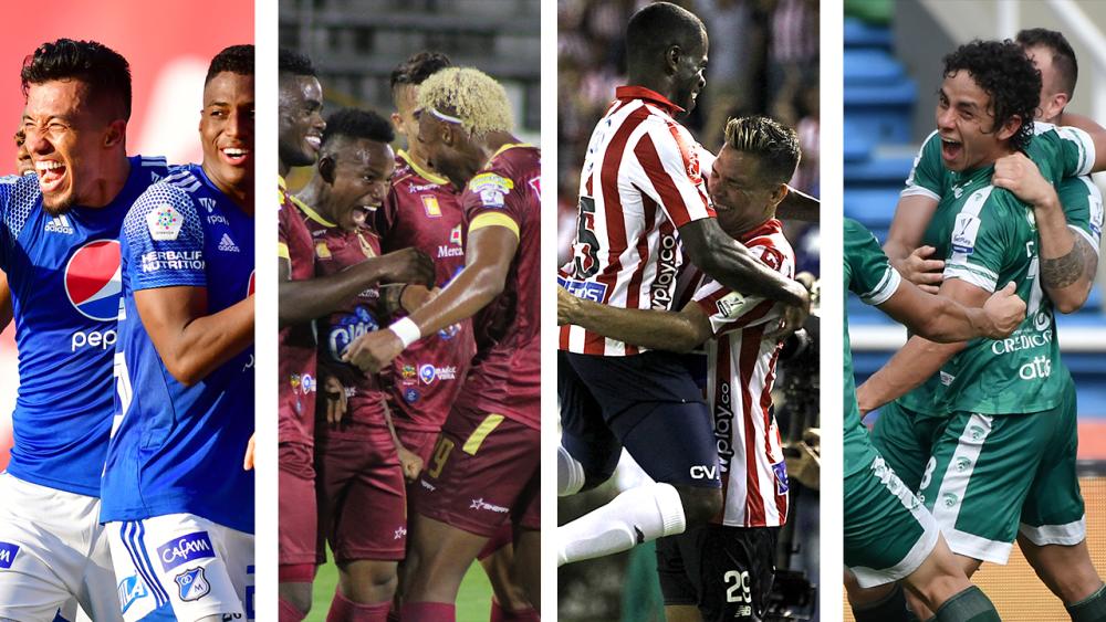 Semifinalistas de la liga colombiana 2021-I. Colprensa.png