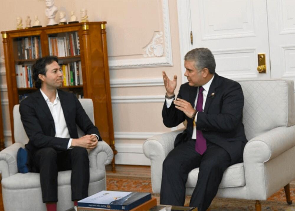 349141_BLU Radio. Reunión de Iván Duque y Daniel Quintero / Foto: Presidencia