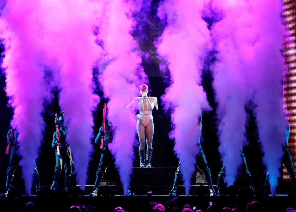 335552_BLU Radio. Rihanna // Foto: AFP