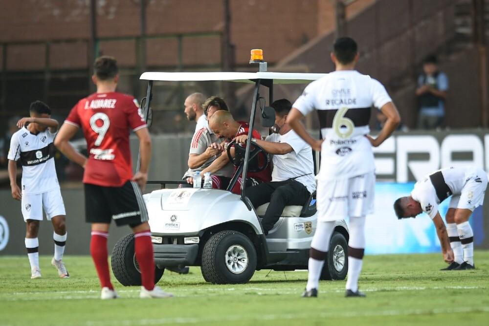 Javier Pinola Platense vs River Plate