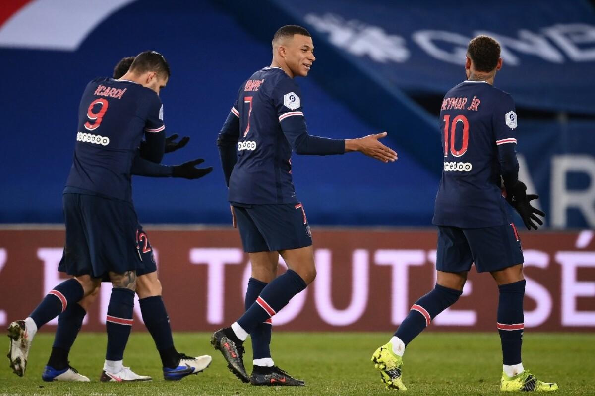 PSG, Lille y Lyon no fallan y mantienen el pulso por el campeonato