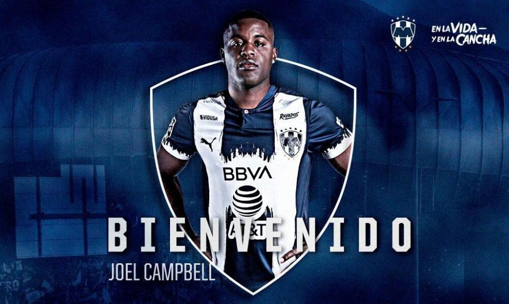 Joel Campbell, jugador de Monterrey. Monterry Oficial.jpg