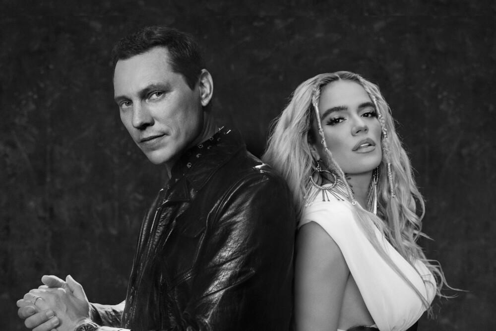 Karol G y Tiësto estrenan 'Don't be shy'