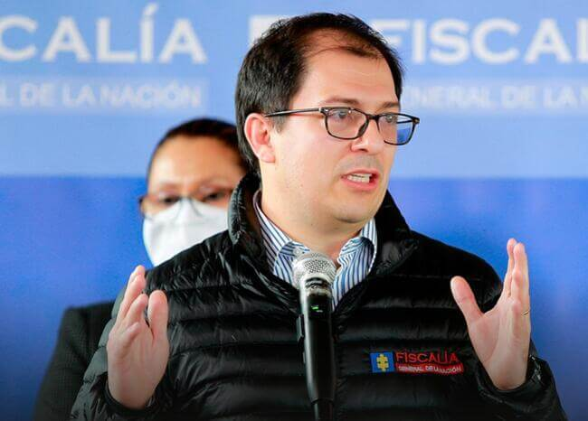 Francisco Barbosa. Foto Fiscalía