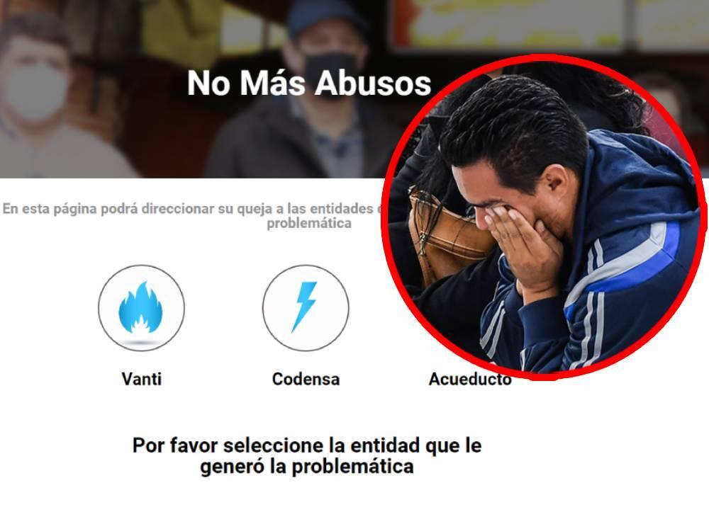 'No más abusos', página para radicar quejas contra empresas de servicios públicos
