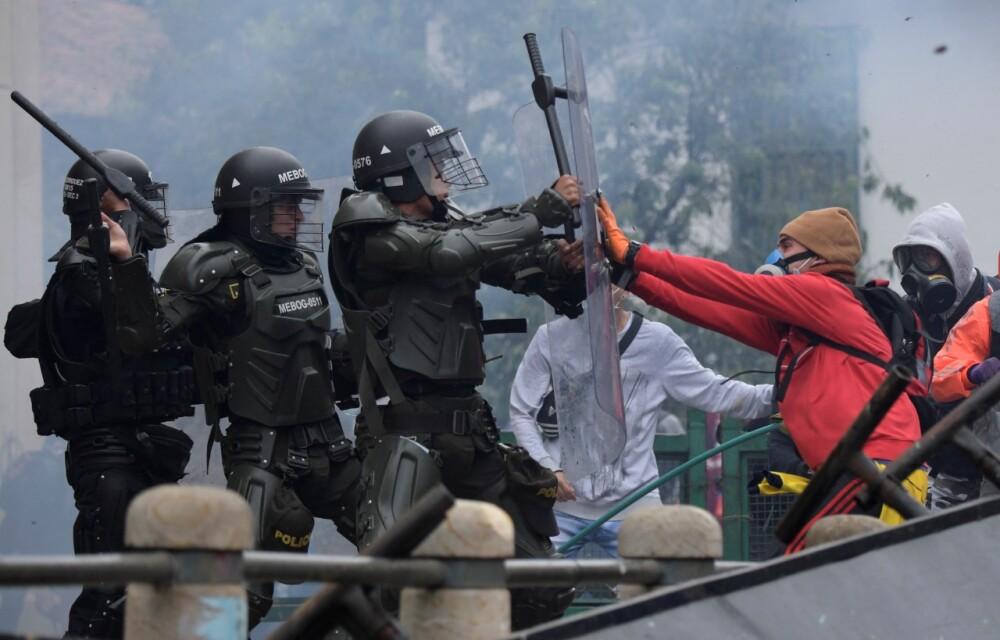 Protestas marchas en Colombia y Bogotá AFP (6).jpeg