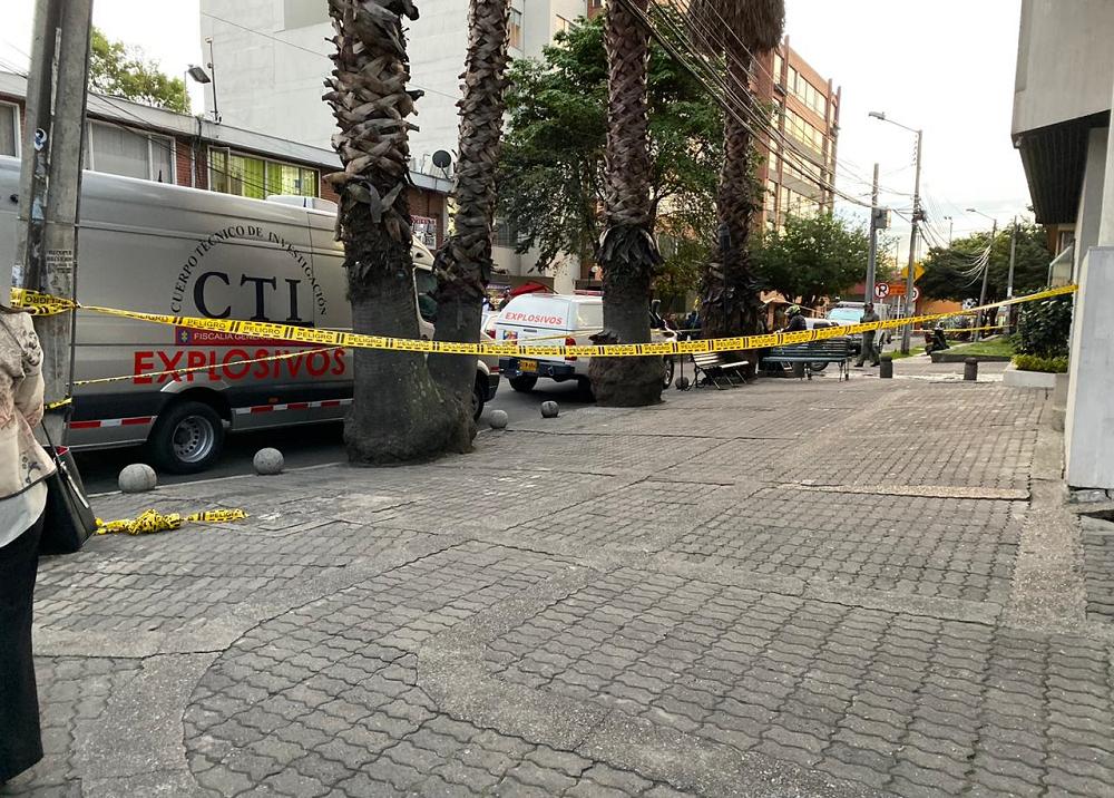 347378_BLU Radio. Fuerte explosión dentro de edificio en Chapinero // Foto: Suministrada