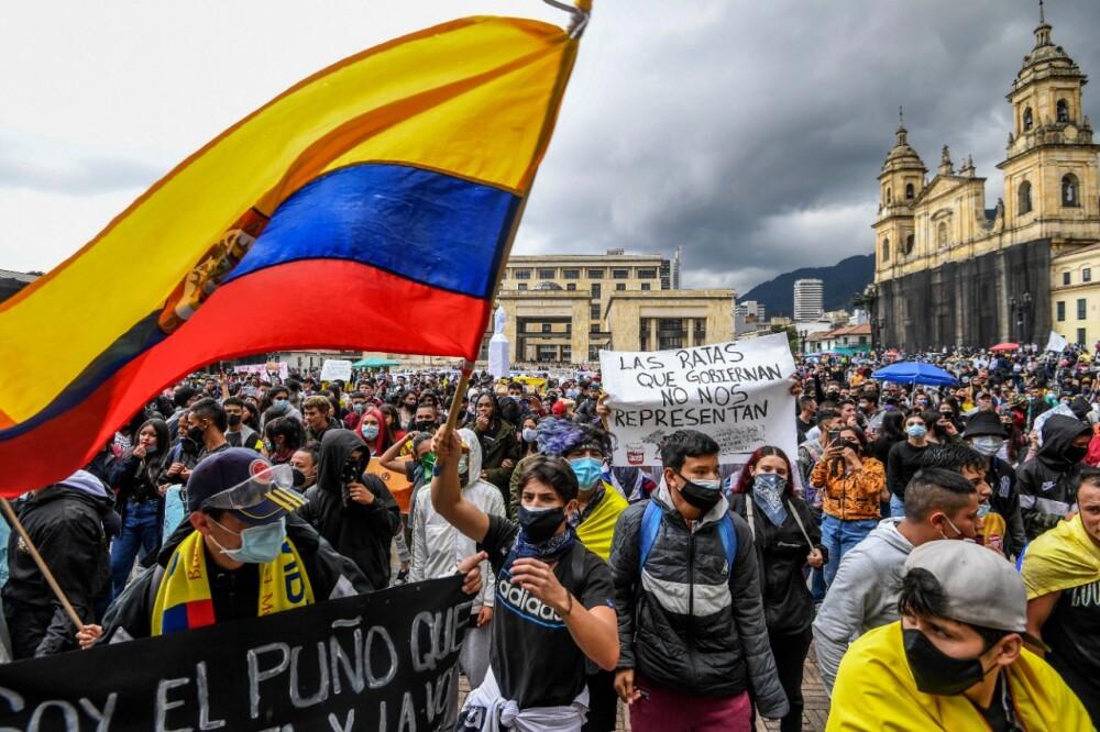 Protestas marchas en Colombia y Bogotá AFP (5).jpeg
