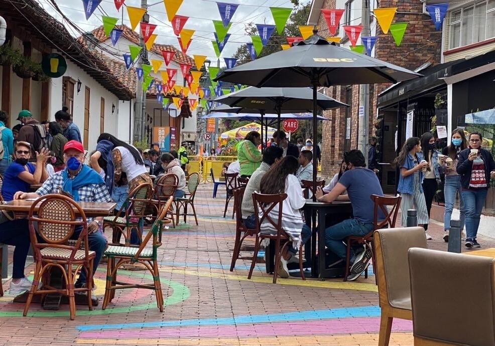 Reactivación económica de Bogotá