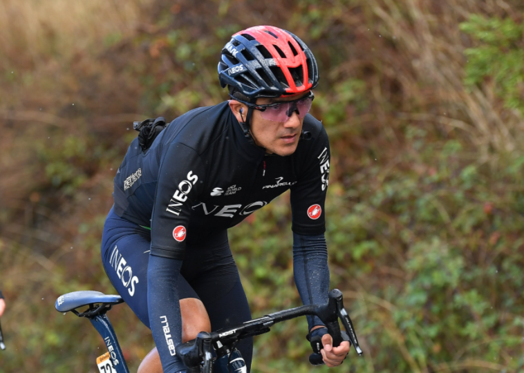 Richard Carapaz, ciclista ecuatoriano del Ineos.