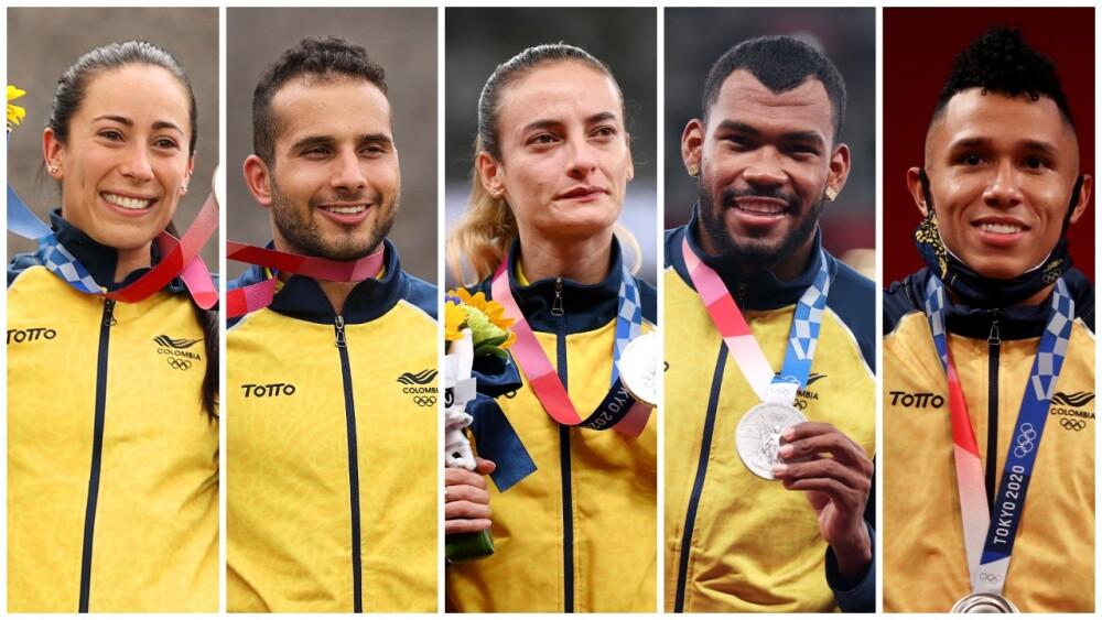 Medallistas colombianos en Tokio 2020