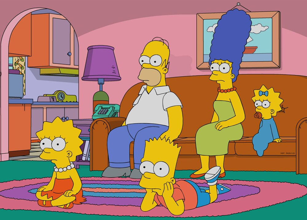 10112_La Kalle - Los Simpsons - Foto Facebook The Simpsons