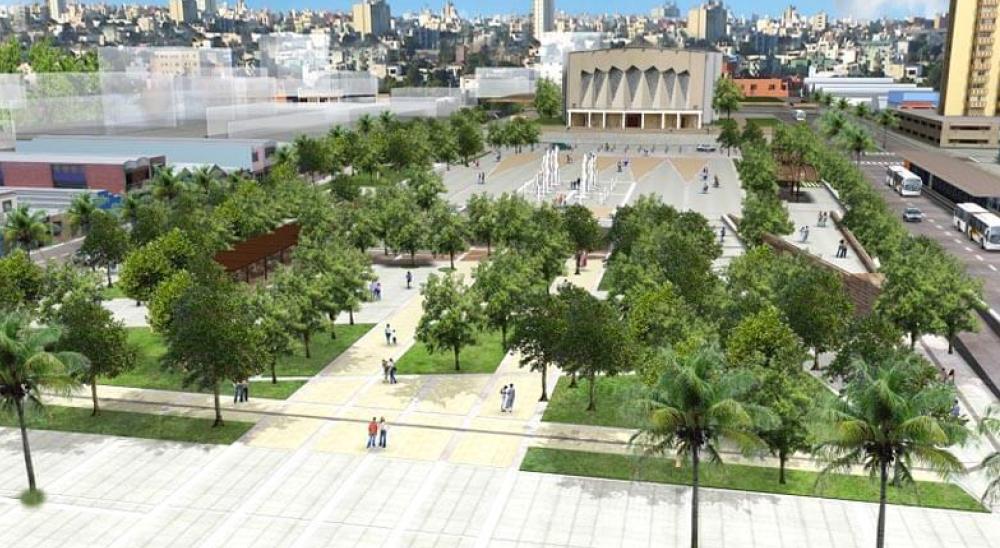 Gran Plaza de la Paz.