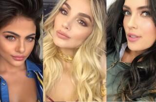 Las 16 modelos colombianas con los rostros más hermosos