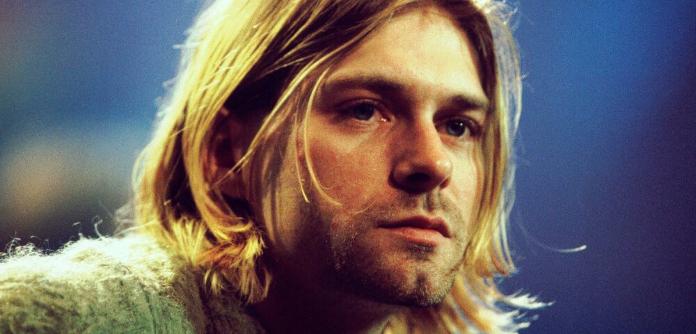 Kurt Cobain en el recordado Desconectado de Nirvana.