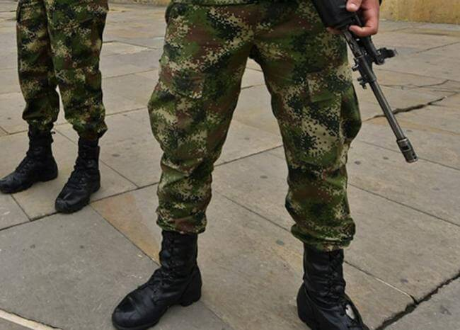 369308_Militares // Foto: Referencia AFP