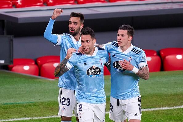 Hugo Mallo Celta de Vigo vs Athletic Bilbao