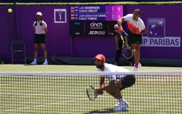 Juan Sebastián Cabal y Robert Farah clasificaron a cuartos de final de ATP 500 de de Queen's.
