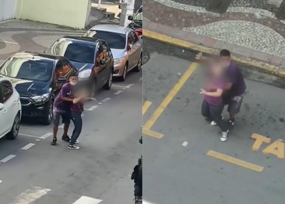 Asalto en Brasil Captura de Video.
