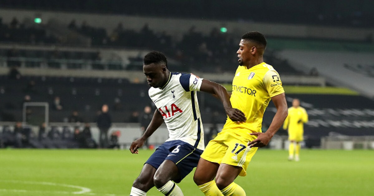 Con Davinson Sánchez, Tottenham empató 1-1 con Fulham y volvió a dar ventajas en la Premier League