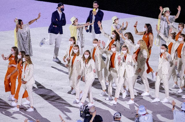 Países Bajos, en los Juegos Olímpicos de Tokio