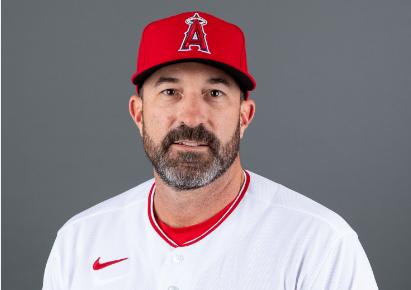 Mickey Callaway, entrenador de pitcheo de Los Angelinos de Los Ángeles.