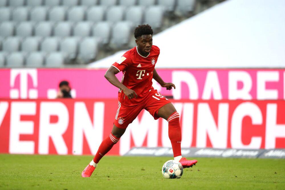 Alphonso Davies, jugador del Bayern Múnich