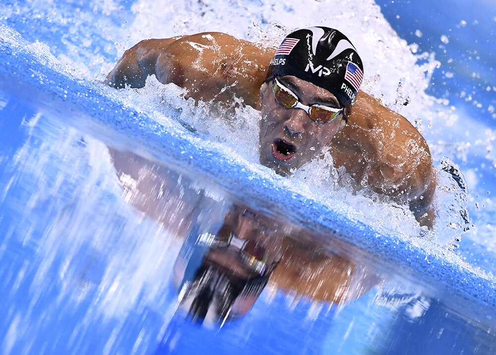 247407_Michael Phelps. Foto: AFP