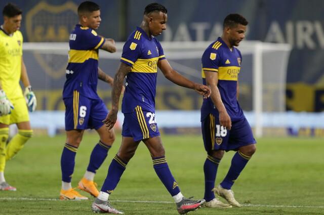 Colombianos en la semifinal de Boca Juniors contra Racing