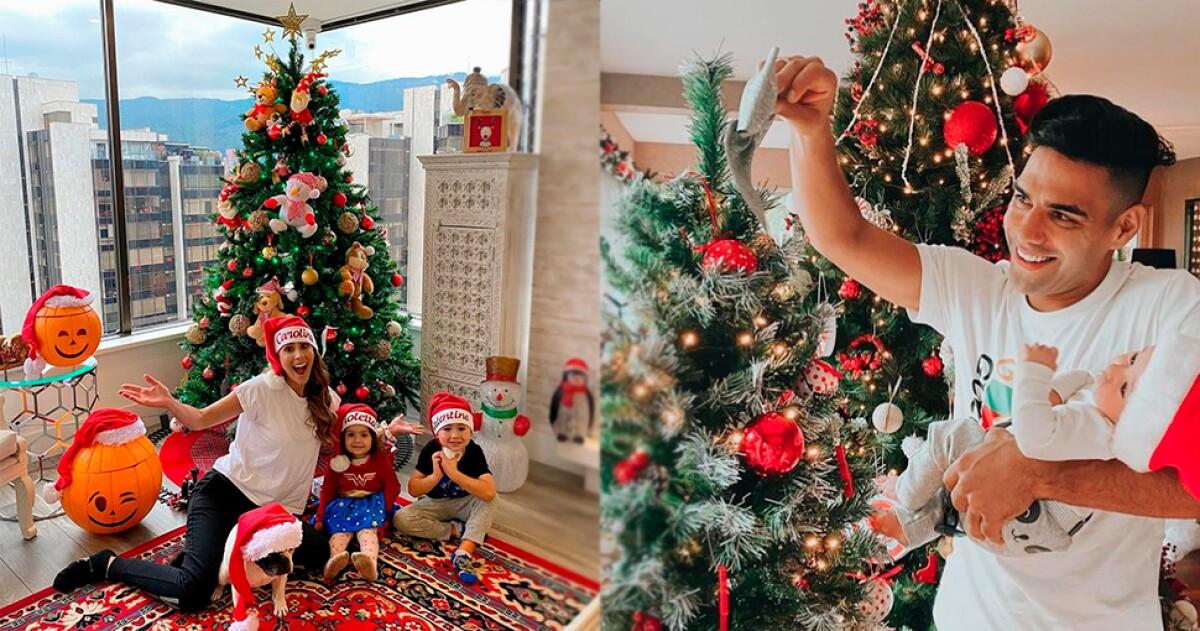 Asi Han Decorado Algunos Famosos Sus Casas Para Navidad