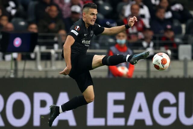 Rafael Santos Borré, jugador del Eintracht Frankfurt