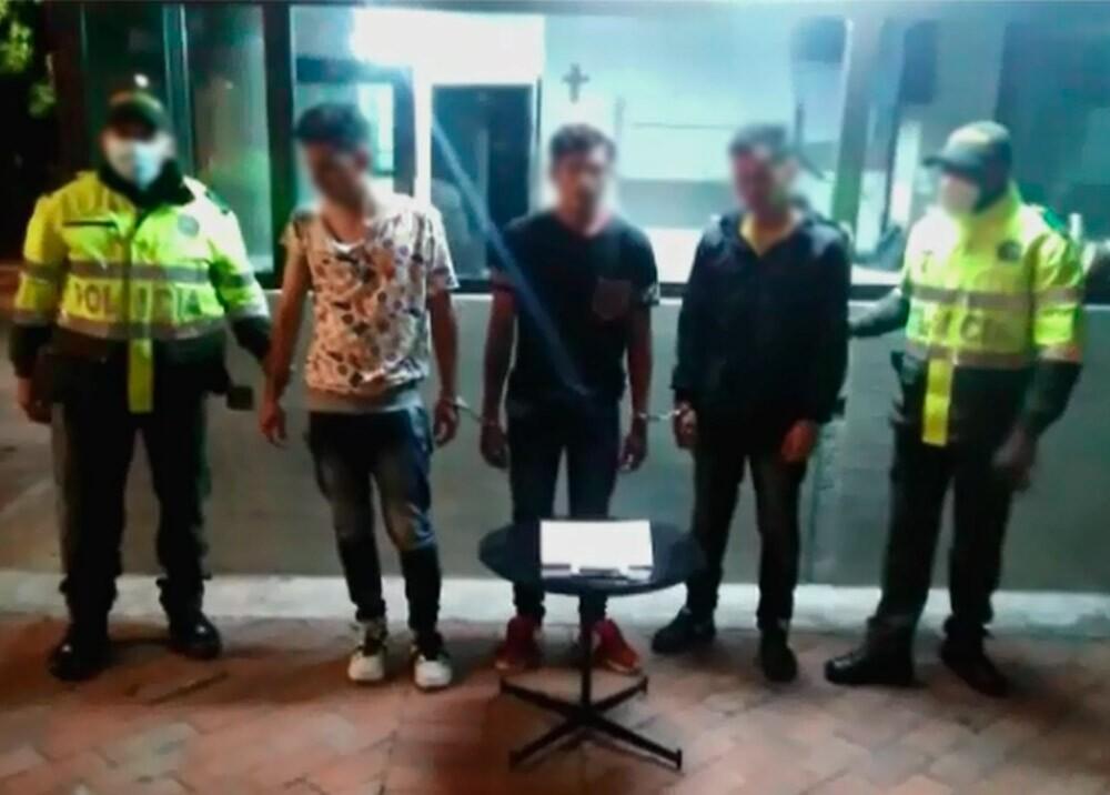 360260_Desarticulan banda de supuestos atracadores de médicos // Foto: captura video cortesía Noticias Caracol