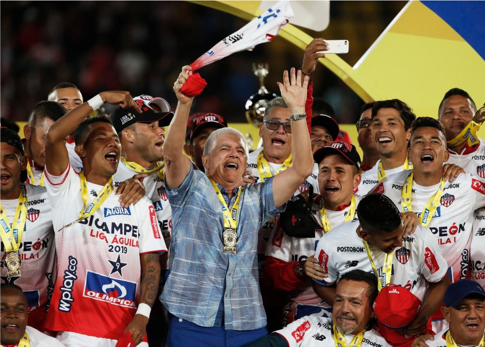 336221_BLU Radio // Junior campeón de la Liga Águila // AFP
