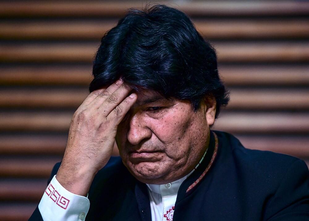 367152_Evo Morales // Foto: AFP