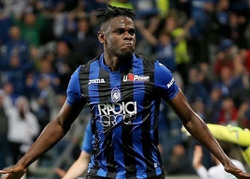 334986_BLU Radio. Duván Zapata quedó segundo mejor goleador de la Serie A // Foto: Atalanta