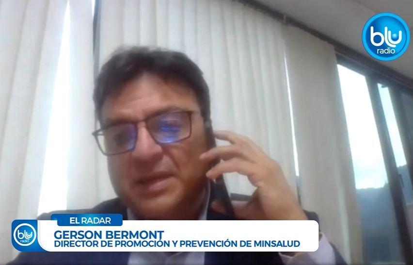 director de promoción y prevención del Ministerio de Salud, Gerson Bermont.JPG