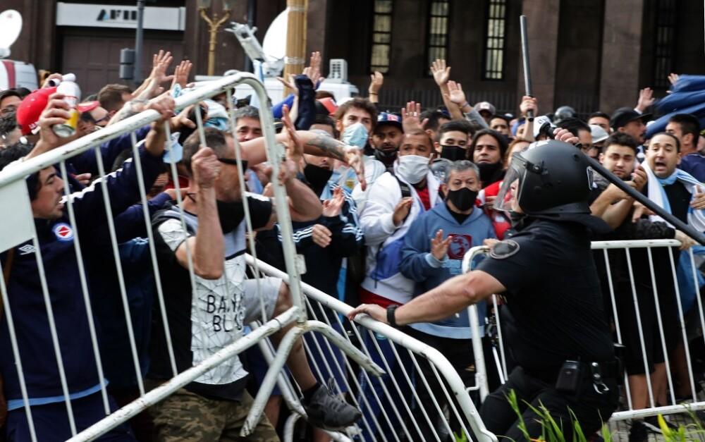 Disturbios Maradona
