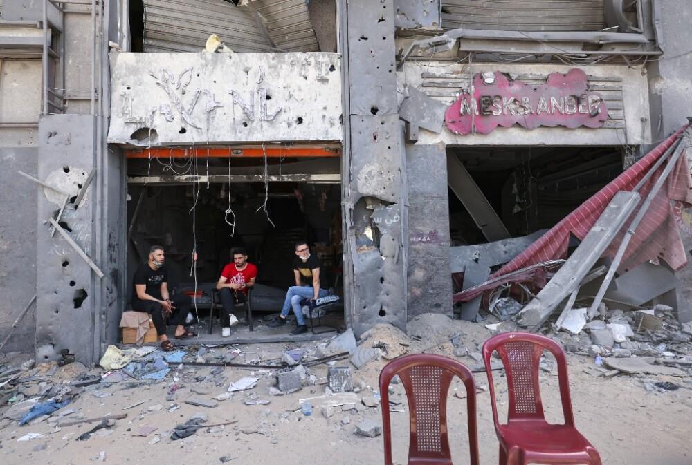 Gaza tras duros enfrentamientos con Israel