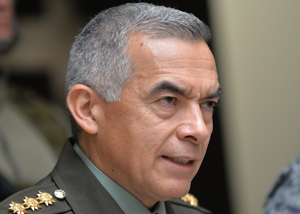 General Óscar Atehortúa