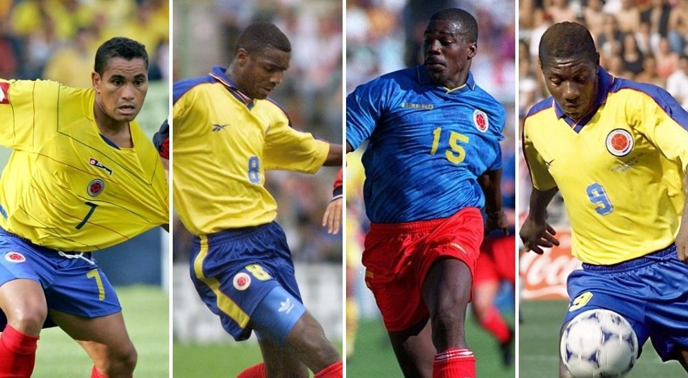 exjugadores Selección Colombia