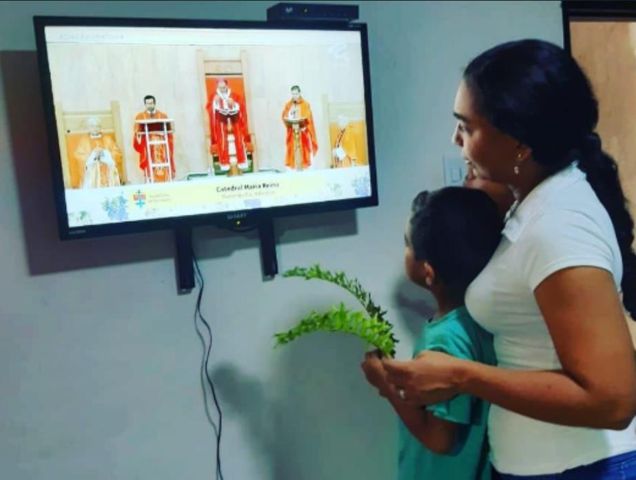 359802_BLU Radio // Semana Santa Virtual en el Atlántico // Foto: Arquidiócesis de Barranquilla