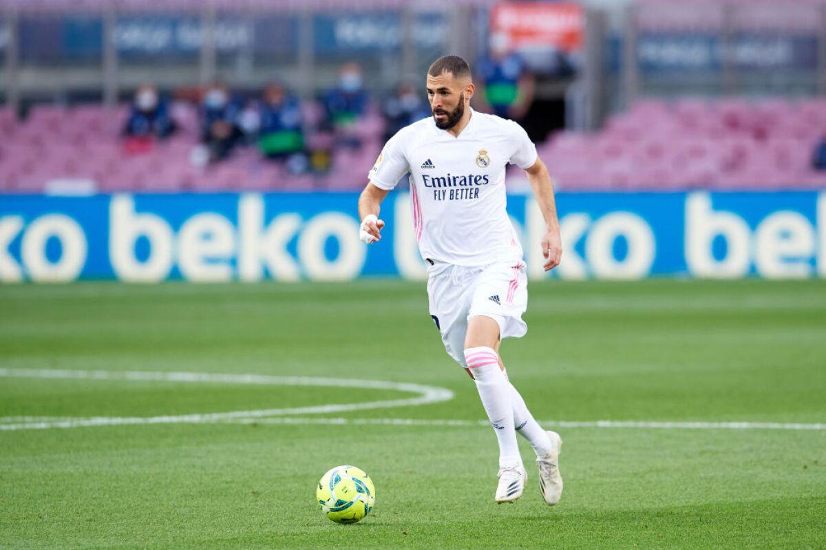 Inter Vs Real Madrid Karim Benzema Entreno En Solitario Y Es Duda Para El Duelo De Champions