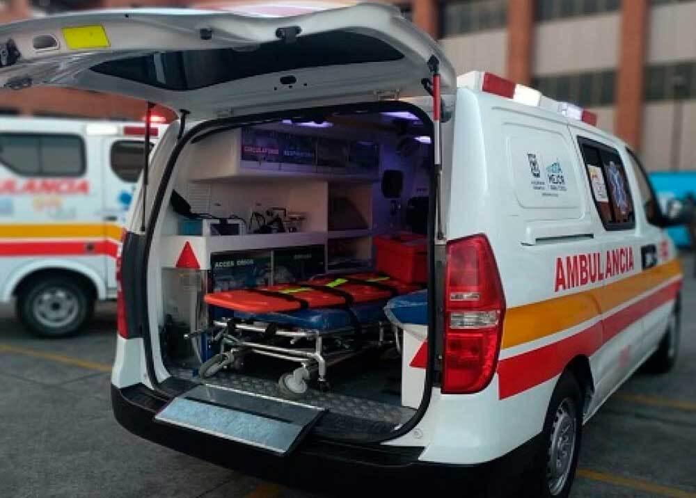 339826_BLU Radio // Ambulancia Bogotá // Foto: Secretaría Salud Bogotá