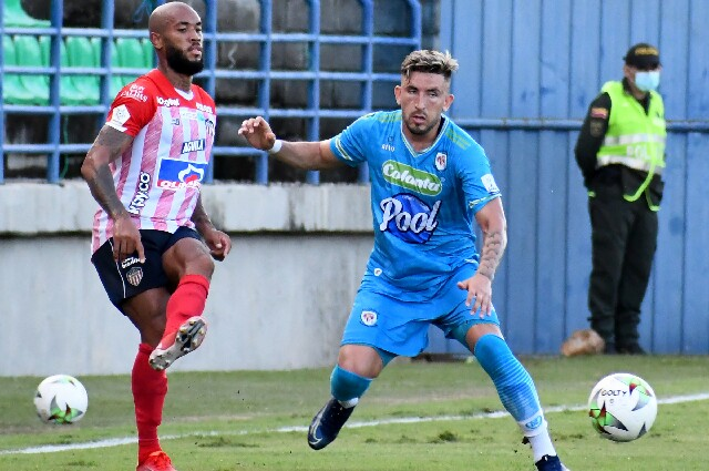 Jaguares contra Junior de Barranquilla, en la quinta fecha de la liga colombiana