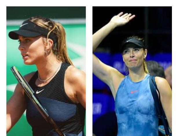 A Paula Badosa la compara con Maria Sharapova en Roland Garros.